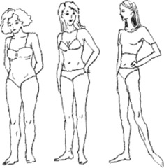 таблица соотношения рост вес от телосложения
